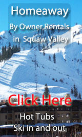ski in out by owner vacation rentals in squaw valley