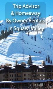 squaw valley by owner rentals